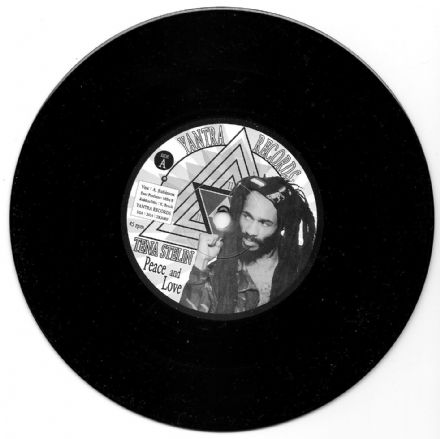 SALE ITEM - Tenastelin - Peace & Love / Peace & Dub (Yantra Records) US 7""